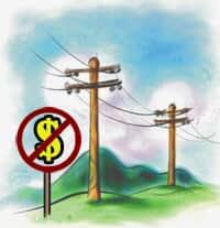 A inconstitucionalidade da cobrança pelo uso de faixa de domínio para instalação de rede elétrica