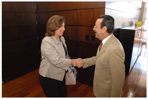 TJ/RS recebe visita da deputada Maria Helena Sartori