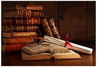 A biblioteca da Faculdade de Direito, do Largo S. Francisco