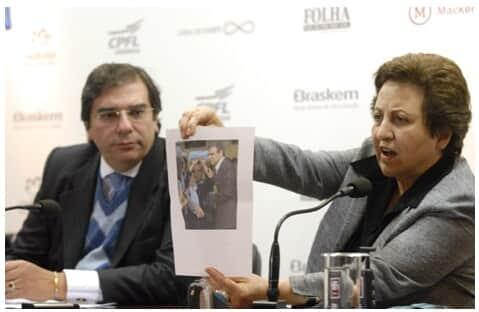 Shirin Ebadi faz apelo à OAB/SP pela libertação de advogada Iraniana