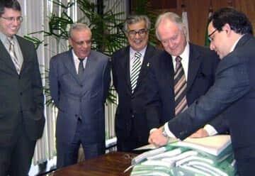 Presidente do TJ/DF assina contrato para construção do novo fórum de Recanto das Emas