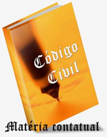 Código Civil e as proposições em matéria contratual