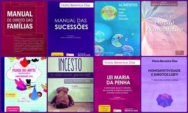 Lançamento das novas edições de livros da advogada Maria Berenice Dias