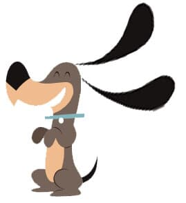 O cão orelhudo
