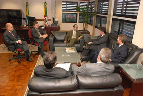 TJ/RS recebe visita do chefe da Casa Civil