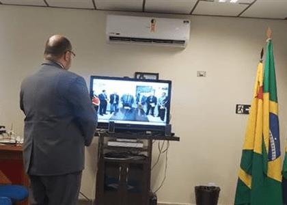 Juiz do Trabalho toma posse por videoconferência no Acre