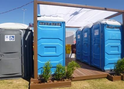 Banheiro químico para pessoas com deficiência passa a ser obrigatório em eventos