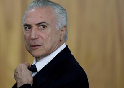 PGR denuncia Temer por corrupção e lavagem de dinheiro no inquérito dos Portos