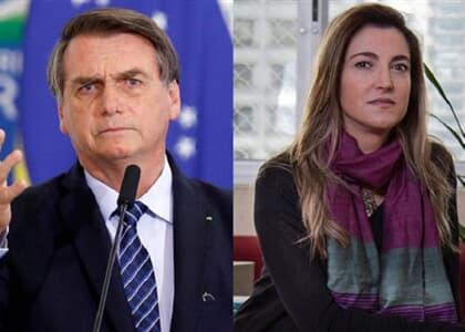 """Jornalista processa Bolsonaro por ofensa com insinuação sexual: """"queria dar o furo"""""""