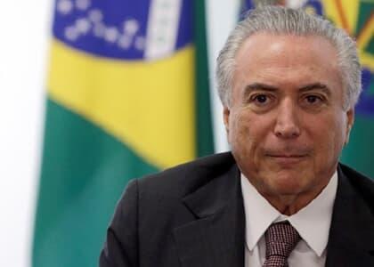 STJ: Ministro Noronha suspende ação por lavagem de dinheiro contra Temer