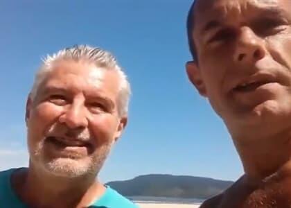 Ex-presidente do TJ/SP ignora determinação municipal e vai à praia