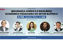 WEBINAR - Segurança jurídica e equilíbrio econômico financeiro no setor elétrico