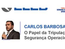 Carlos Barbosa, do Cerdeira Rocha Advogados e Consultores Legais, será palestrante na EMBRAER