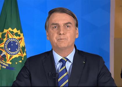 Tratamento não pode ser mais danoso que a doença, diz Bolsonaro em novo pronunciamento