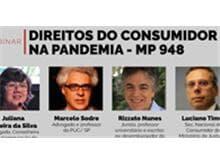 """Migalhas realiza webinar """"Direitos do Consumidor na pandemia - MP 948"""""""