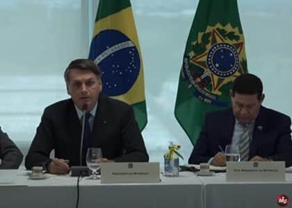 """Bolsonaro: """"Eu tenho o poder e vou interferir em todos os ministérios"""""""