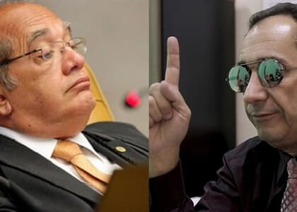 "Kajuru ataca Gilmar Mendes: ""Seu bandido, corrupto"""