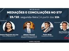 WEBINAR - Mediações e Conciliações no STF