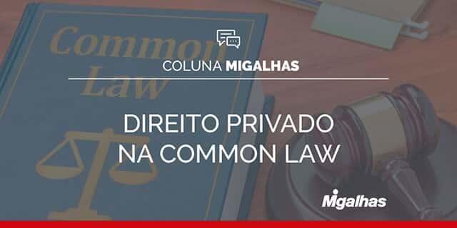 Direito Privado no Common Law